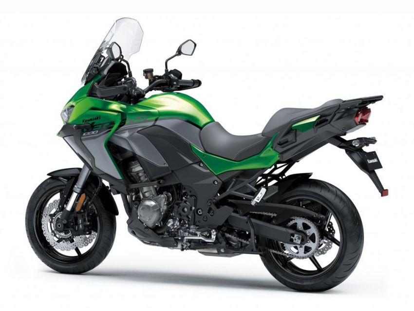 2019 Kawasaki Versys 1000 now available in Europe Image #920546