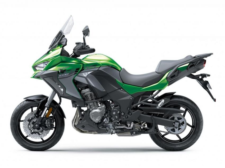 2019 Kawasaki Versys 1000 now available in Europe Image #920548