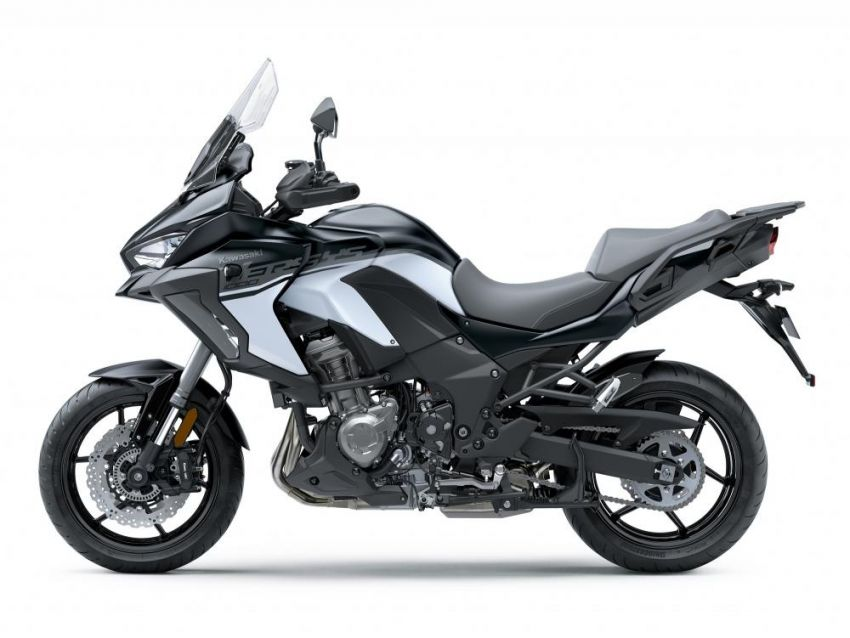 2019 Kawasaki Versys 1000 now available in Europe Image #920549