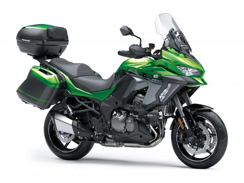 2019 Kawasaki Versys 1000 now available in Europe Image #920552