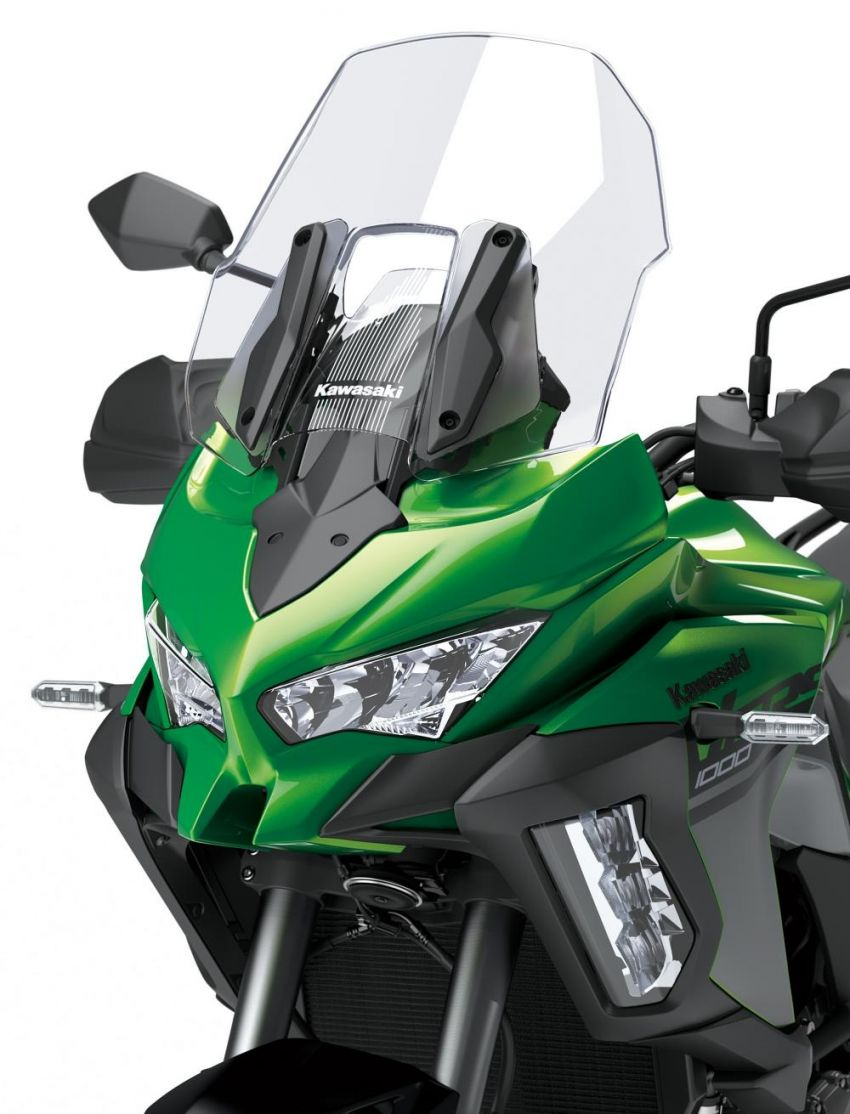 2019 Kawasaki Versys 1000 now available in Europe Image #920555