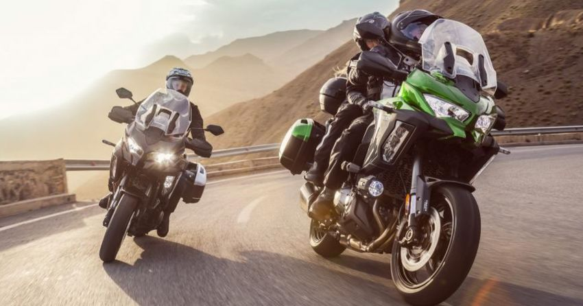 2019 Kawasaki Versys 1000 now available in Europe Image #920528