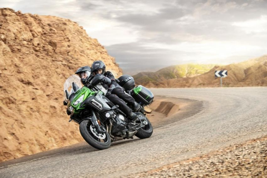 2019 Kawasaki Versys 1000 now available in Europe Image #920529