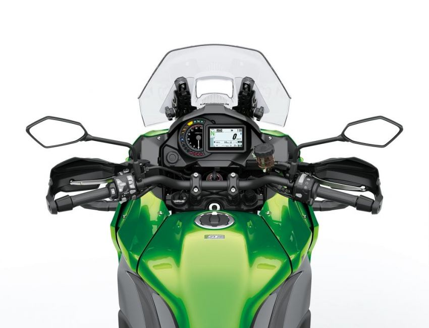 2019 Kawasaki Versys 1000 now available in Europe Image #920569