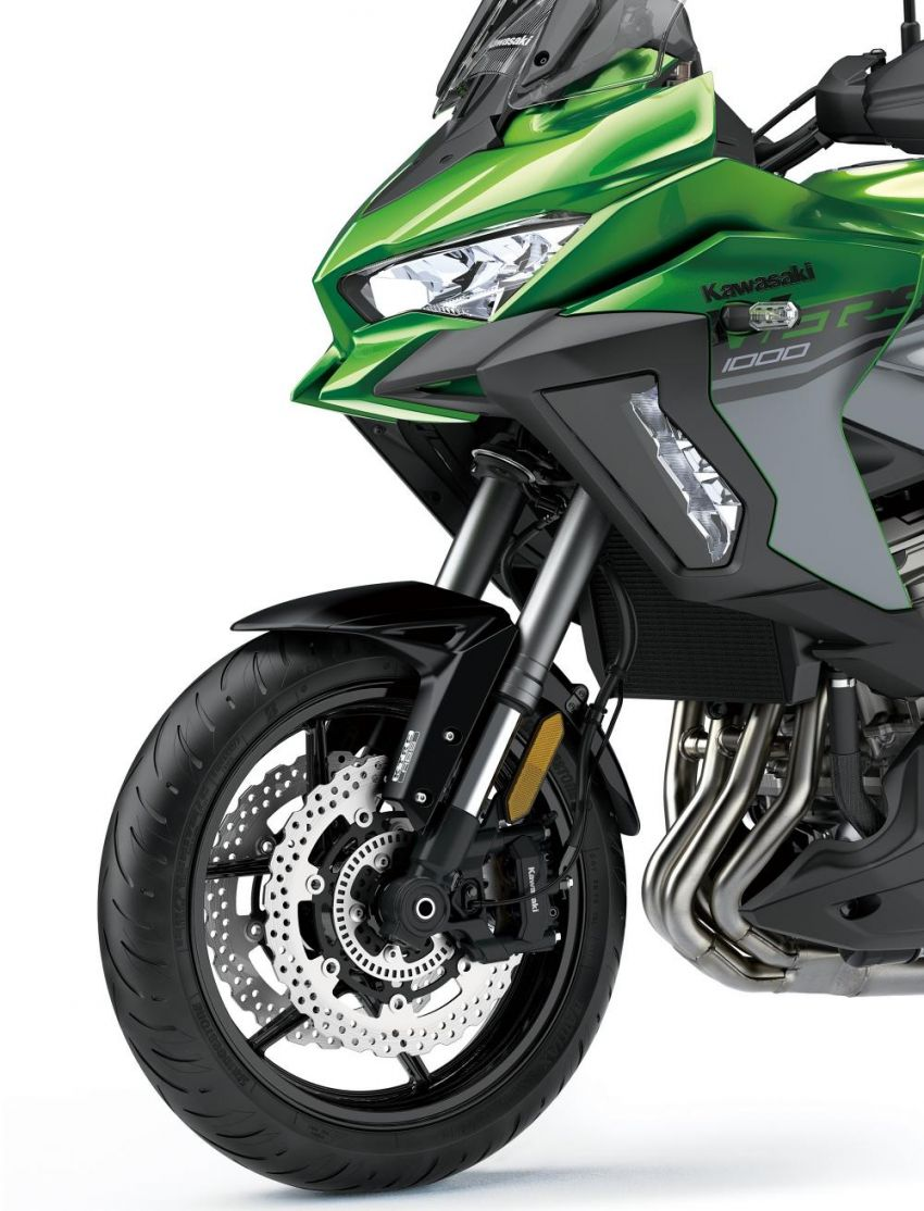 2019 Kawasaki Versys 1000 now available in Europe Image #920570