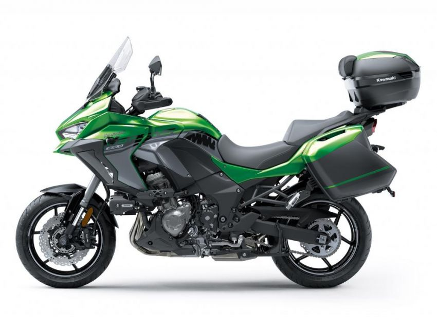 2019 Kawasaki Versys 1000 now available in Europe Image #920576