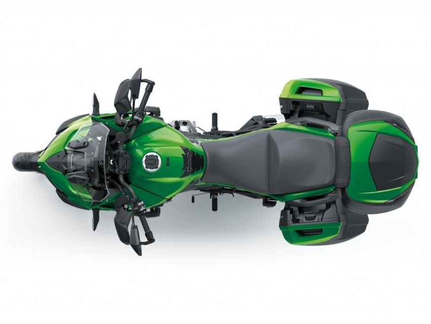 2019 Kawasaki Versys 1000 now available in Europe Image #920579