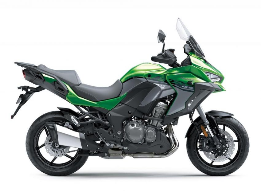 2019 Kawasaki Versys 1000 now available in Europe Image #920581
