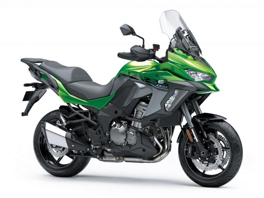 2019 Kawasaki Versys 1000 now available in Europe Image #920583