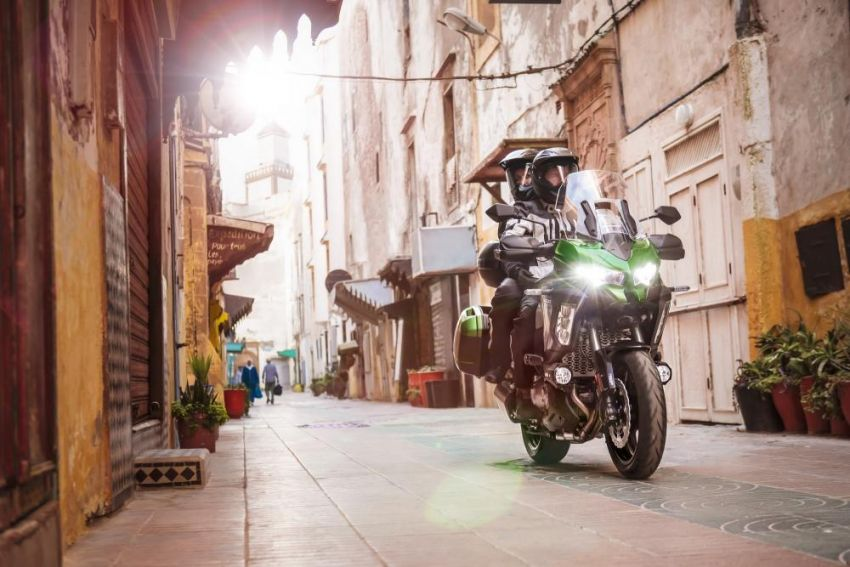 2019 Kawasaki Versys 1000 now available in Europe Image #920532