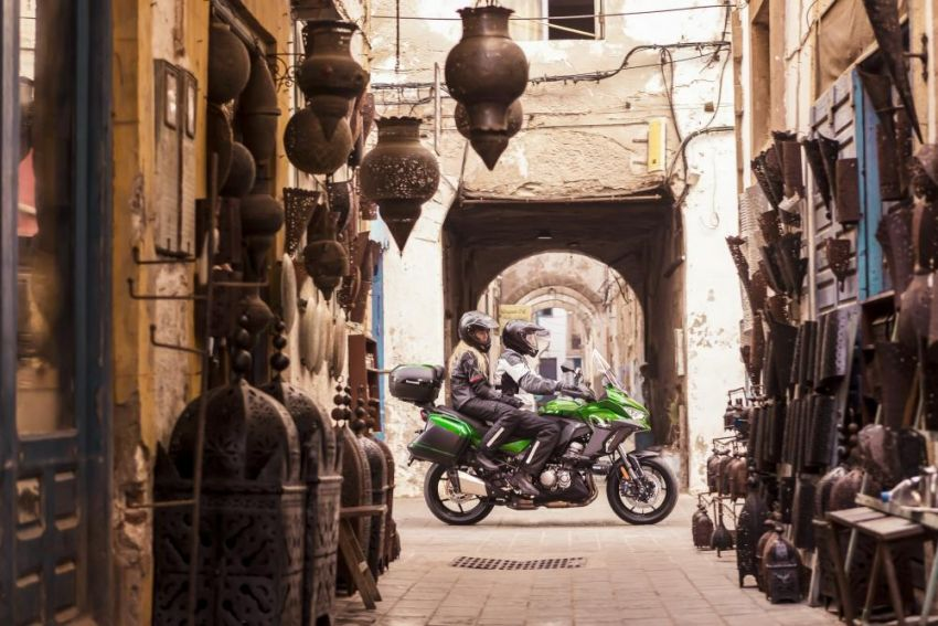 2019 Kawasaki Versys 1000 now available in Europe Image #920533