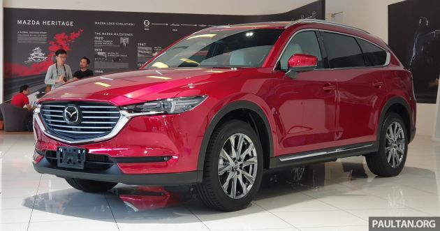 2018 Mazda CX-8: Styling, Specs, Availability >> Mazda Cx 8 Arrives In Malaysia For First Official Preview