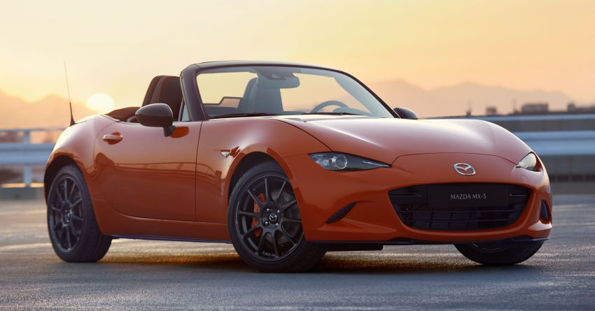 Mazda MX-5 30th Anniversary Edition officially debuts Image #919532