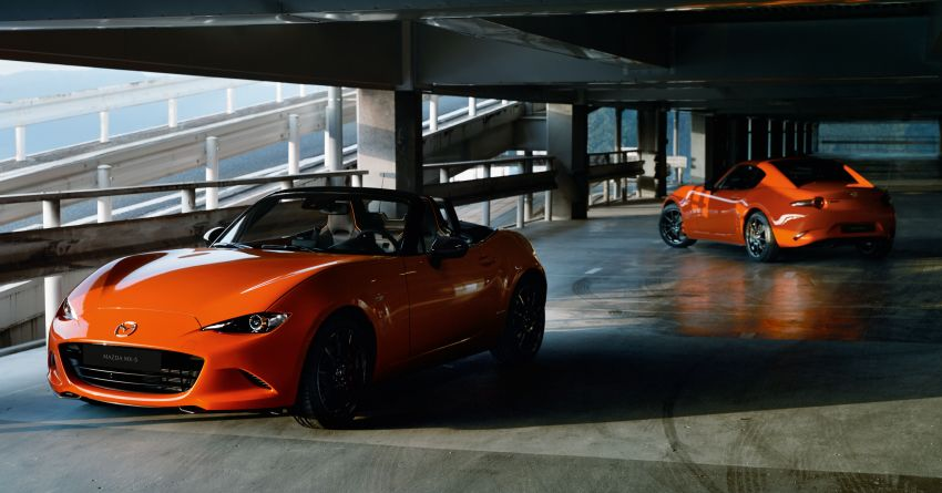 Mazda MX-5 30th Anniversary Edition officially debuts Image #919520