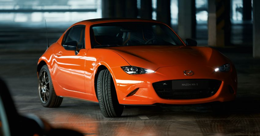 Mazda MX-5 30th Anniversary Edition officially debuts Image #919526
