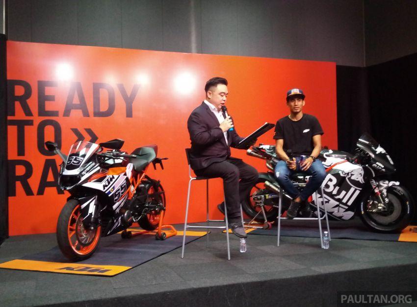 Hafizh Syahrin looking forward to new MotoGP season Image #918465