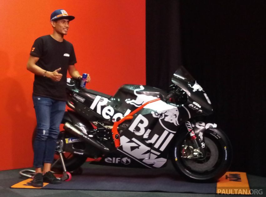 Hafizh Syahrin looking forward to new MotoGP season Image #918462