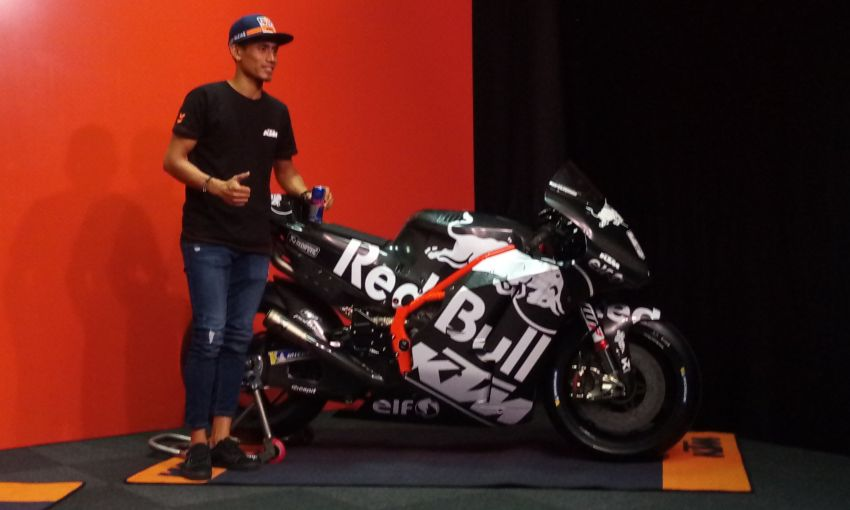 Hafizh Syahrin looking forward to new MotoGP season Image #918466