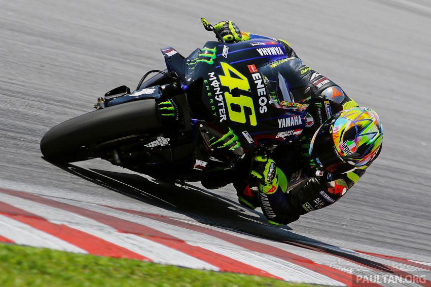 """Marquez, Lorenzo """"better have a plan to deal with me,"""" says Rossi as 2019 MotoGP testing begins in Sepang Image #919399"""