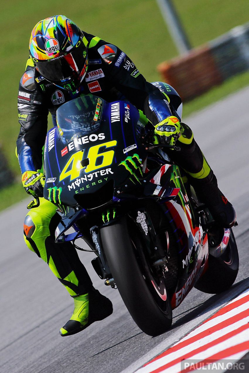 """Marquez, Lorenzo """"better have a plan to deal with me,"""" says Rossi as 2019 MotoGP testing begins in Sepang Image #919397"""
