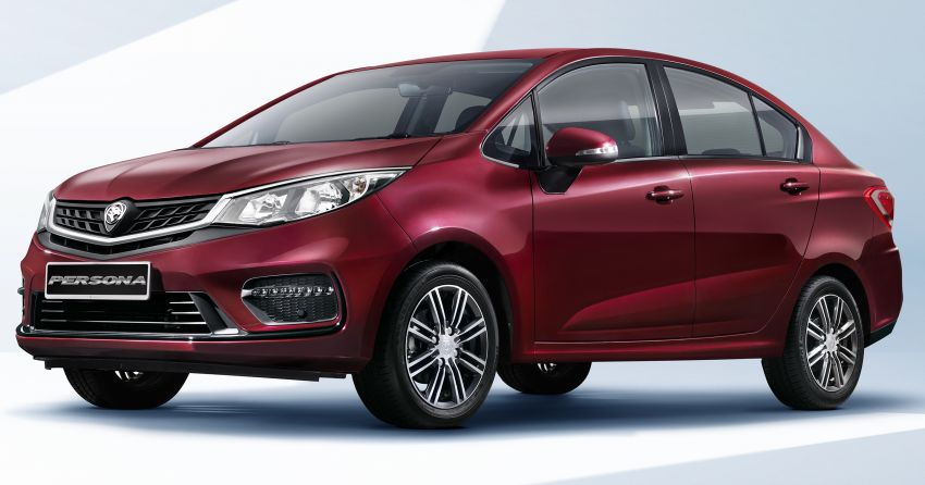 2019 Proton Persona facelift – first official photos out Image #925726
