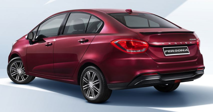 2019 Proton Persona facelift – first official photos out Image #925732