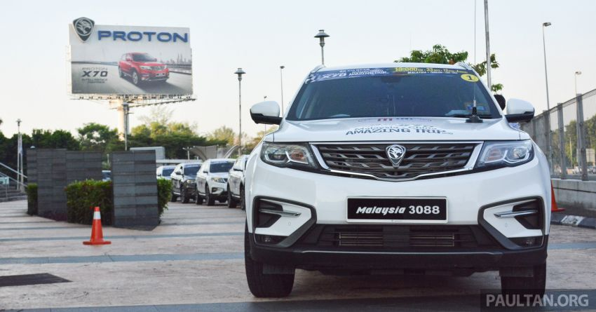 Proton X70 owners embark on 13,000-km, 33-day road trip to visit Geely's headquarters in Hangzhou, China Image #925985