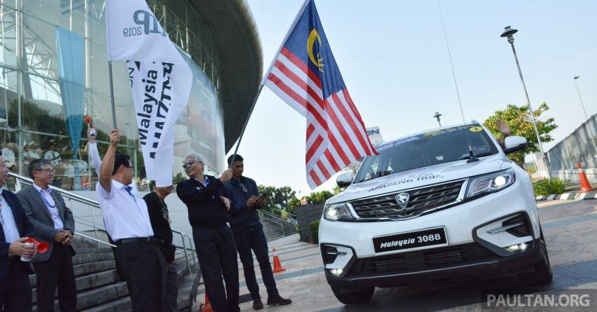 Proton X70 owners embark on 13,000-km, 33-day road trip to visit Geely's headquarters in Hangzhou, China Image #926000