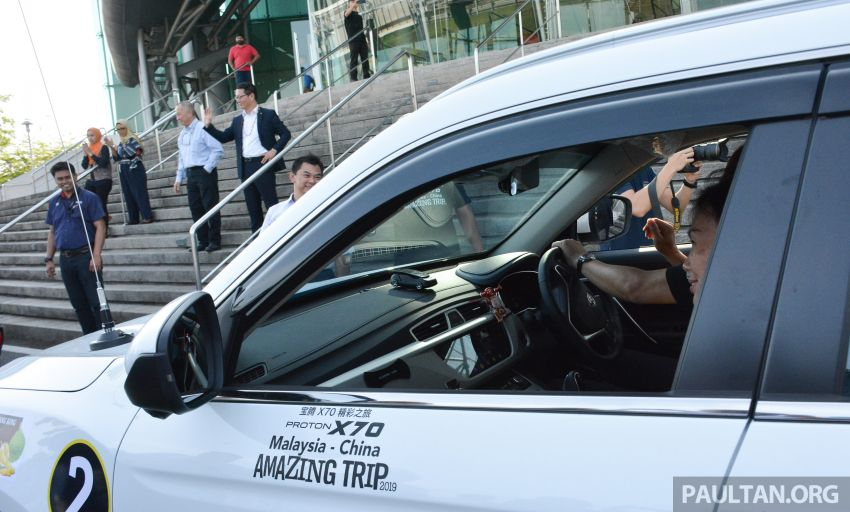 Proton X70 owners embark on 13,000-km, 33-day road trip to visit Geely's headquarters in Hangzhou, China Image #926004
