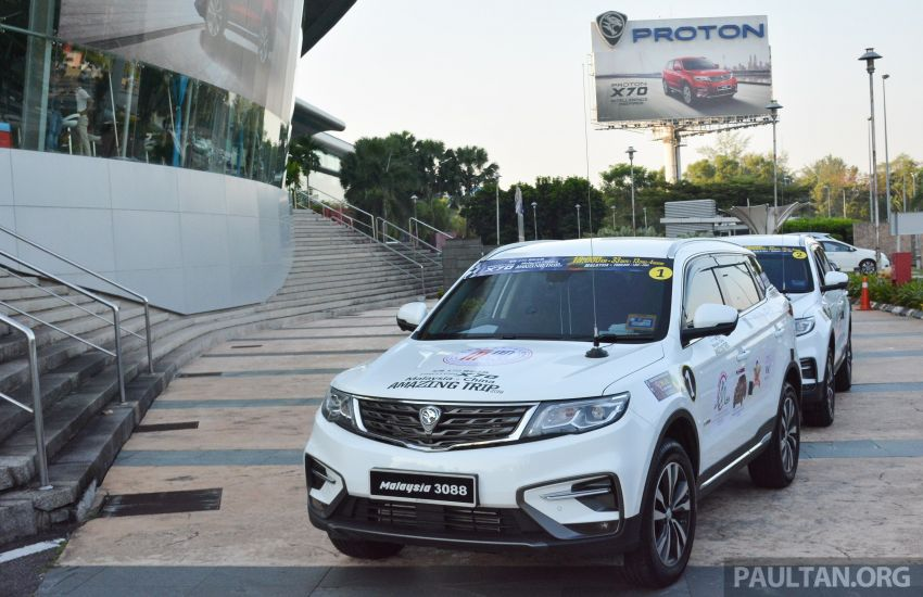 Proton X70 owners embark on 13,000-km, 33-day road trip to visit Geely's headquarters in Hangzhou, China Image #925986