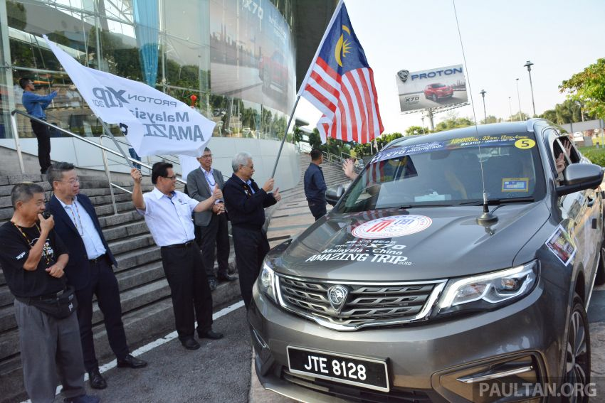Proton X70 owners embark on 13,000-km, 33-day road trip to visit Geely's headquarters in Hangzhou, China Image #926008
