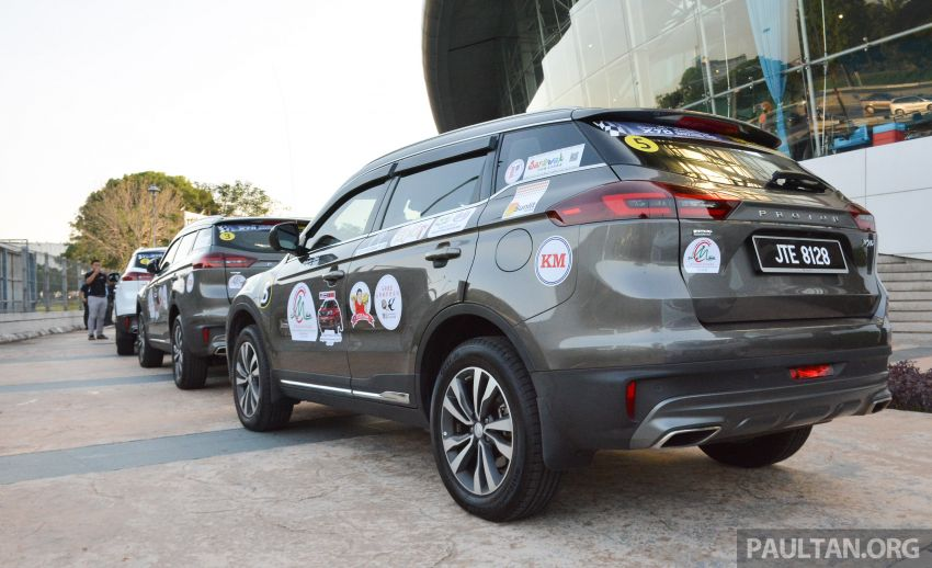 Proton X70 owners embark on 13,000-km, 33-day road trip to visit Geely's headquarters in Hangzhou, China Image #925991