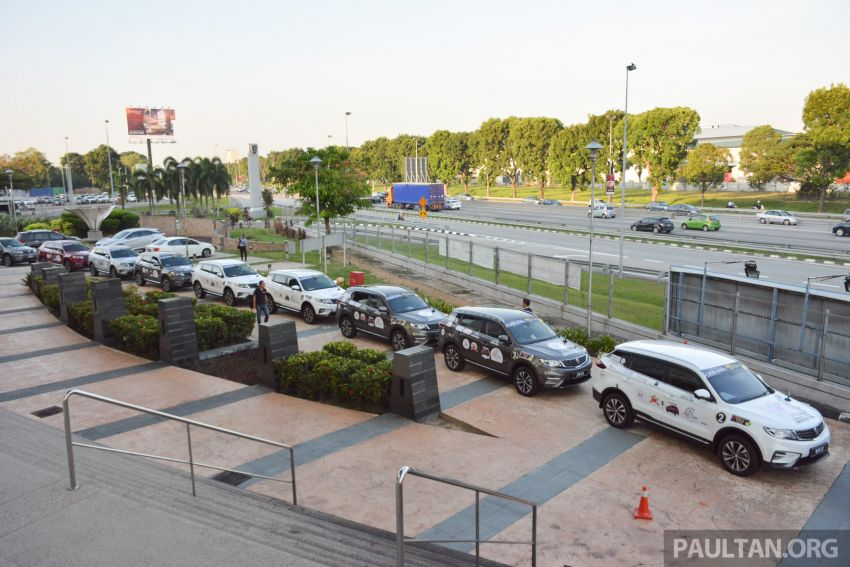 Proton X70 owners embark on 13,000-km, 33-day road trip to visit Geely's headquarters in Hangzhou, China Image #925992