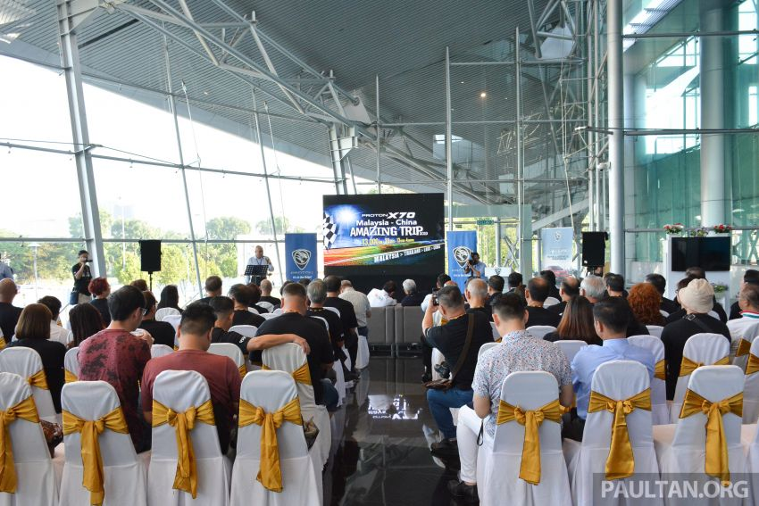 Proton X70 owners embark on 13,000-km, 33-day road trip to visit Geely's headquarters in Hangzhou, China Image #925993