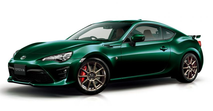 Toyota 86 British Green Limited launched in Japan Image #921064