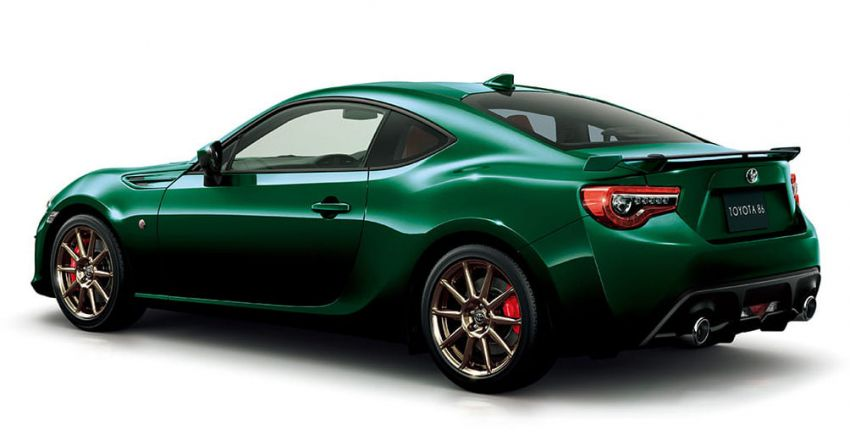 Toyota 86 British Green Limited launched in Japan Image #921065