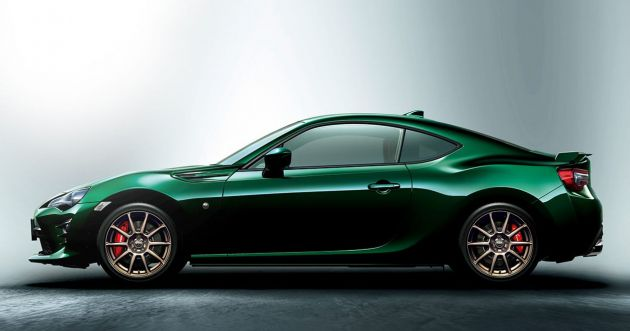 Toyota 86 British Green Limited Launched In Japan