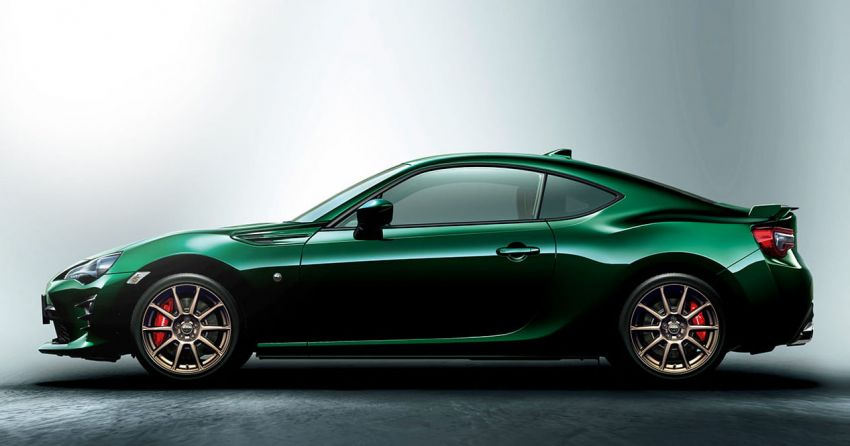 Toyota 86 British Green Limited launched in Japan Image #921066