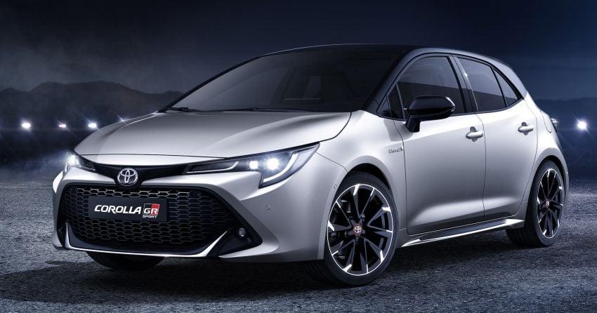 Toyota Corolla GR Sport and Corolla TREK revealed Image #926802