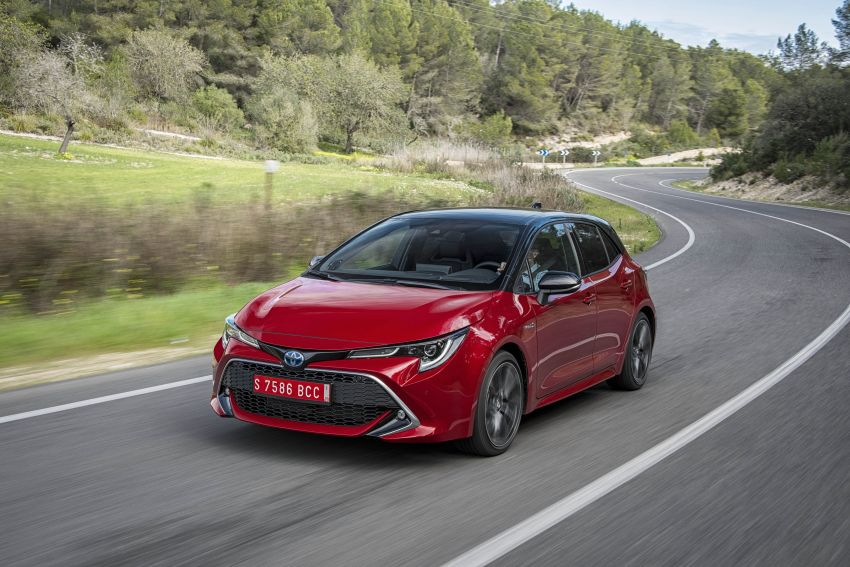 GALLERY: 2019 Toyota Corolla detailed for Europe – three body styles; four powertrains, including hybrids Image #926233
