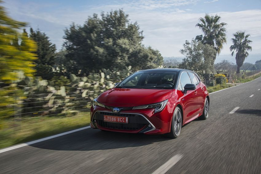 GALLERY: 2019 Toyota Corolla detailed for Europe – three body styles; four powertrains, including hybrids Image #926245