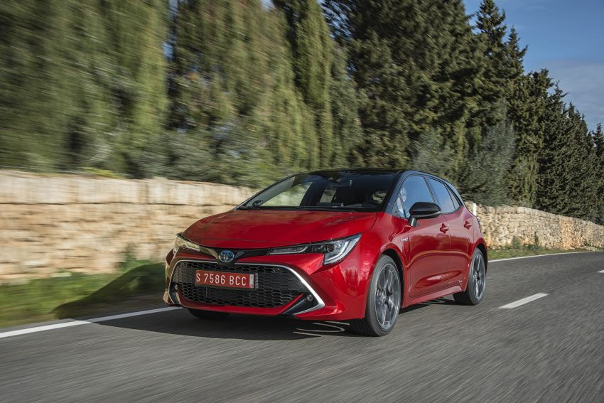 GALLERY: 2019 Toyota Corolla detailed for Europe – three body styles; four powertrains, including hybrids Image #926257