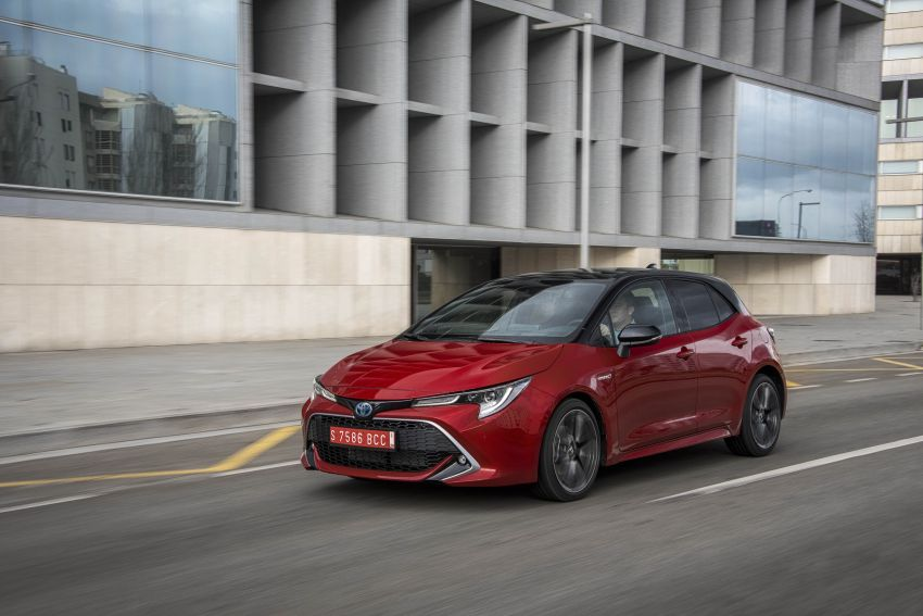 GALLERY: 2019 Toyota Corolla detailed for Europe – three body styles; four powertrains, including hybrids Image #926291