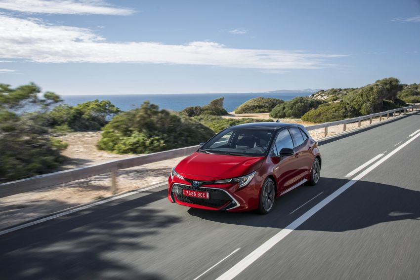 GALLERY: 2019 Toyota Corolla detailed for Europe – three body styles; four powertrains, including hybrids Image #926355