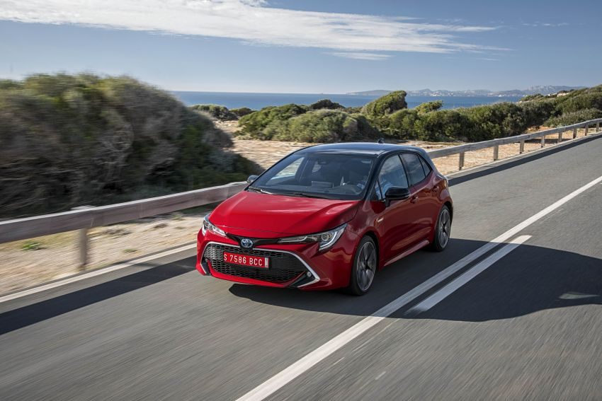 GALLERY: 2019 Toyota Corolla detailed for Europe – three body styles; four powertrains, including hybrids Image #926361