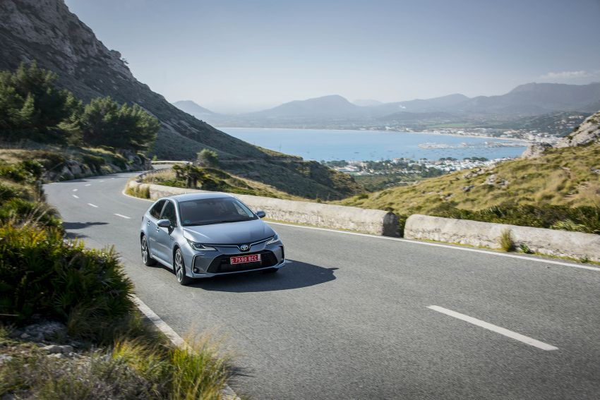 GALLERY: 2019 Toyota Corolla detailed for Europe – three body styles; four powertrains, including hybrids Image #926255