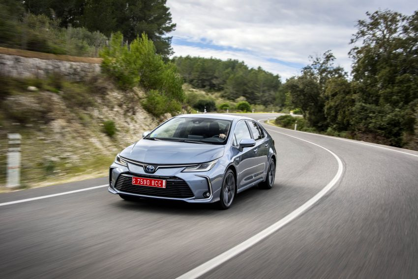 GALLERY: 2019 Toyota Corolla detailed for Europe – three body styles; four powertrains, including hybrids Image #926287