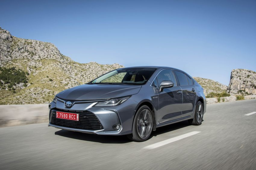 GALLERY: 2019 Toyota Corolla detailed for Europe – three body styles; four powertrains, including hybrids Image #926335