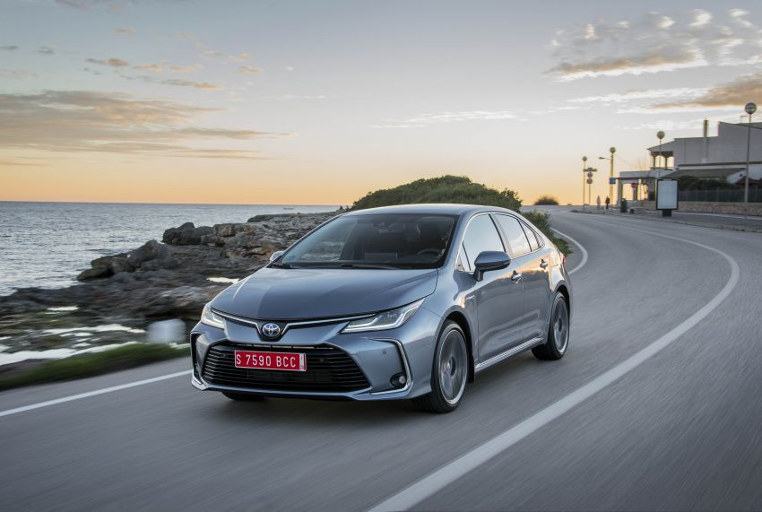 GALLERY: 2019 Toyota Corolla detailed for Europe – three body styles; four powertrains, including hybrids Image #926379