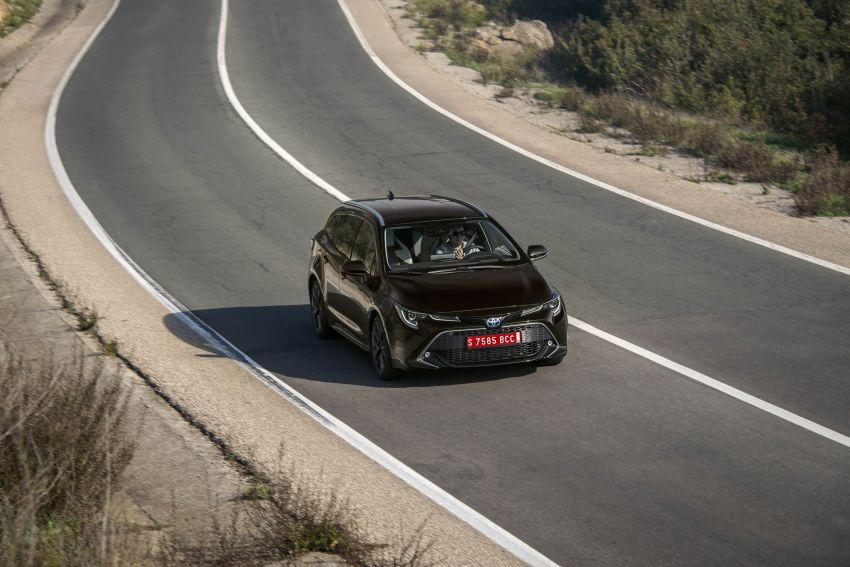 GALLERY: 2019 Toyota Corolla detailed for Europe – three body styles; four powertrains, including hybrids Image #926273
